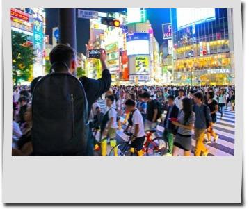 夜の渋谷のイメージ